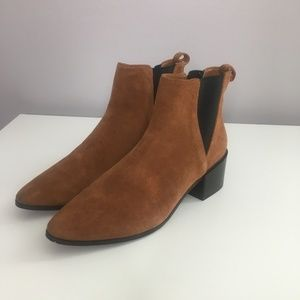 Zara Brown Chelsea Boots A15